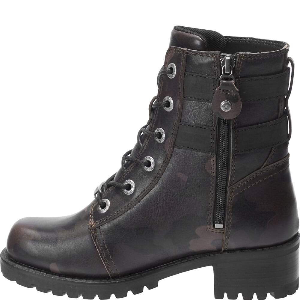 Harley Davidson Women's Fairview Motorcycle Boots - Black