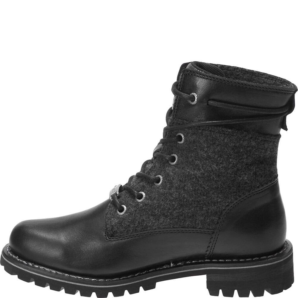 Harley Davidson Women's Dana Motorcycle Boots - Black