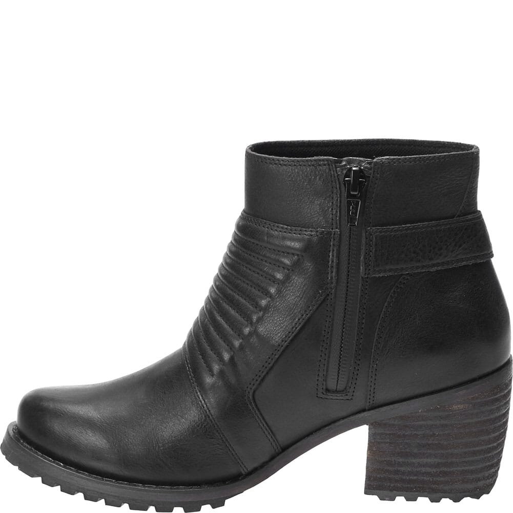 Harley Davidson Women's Caffery Motorcycle Boots - Black
