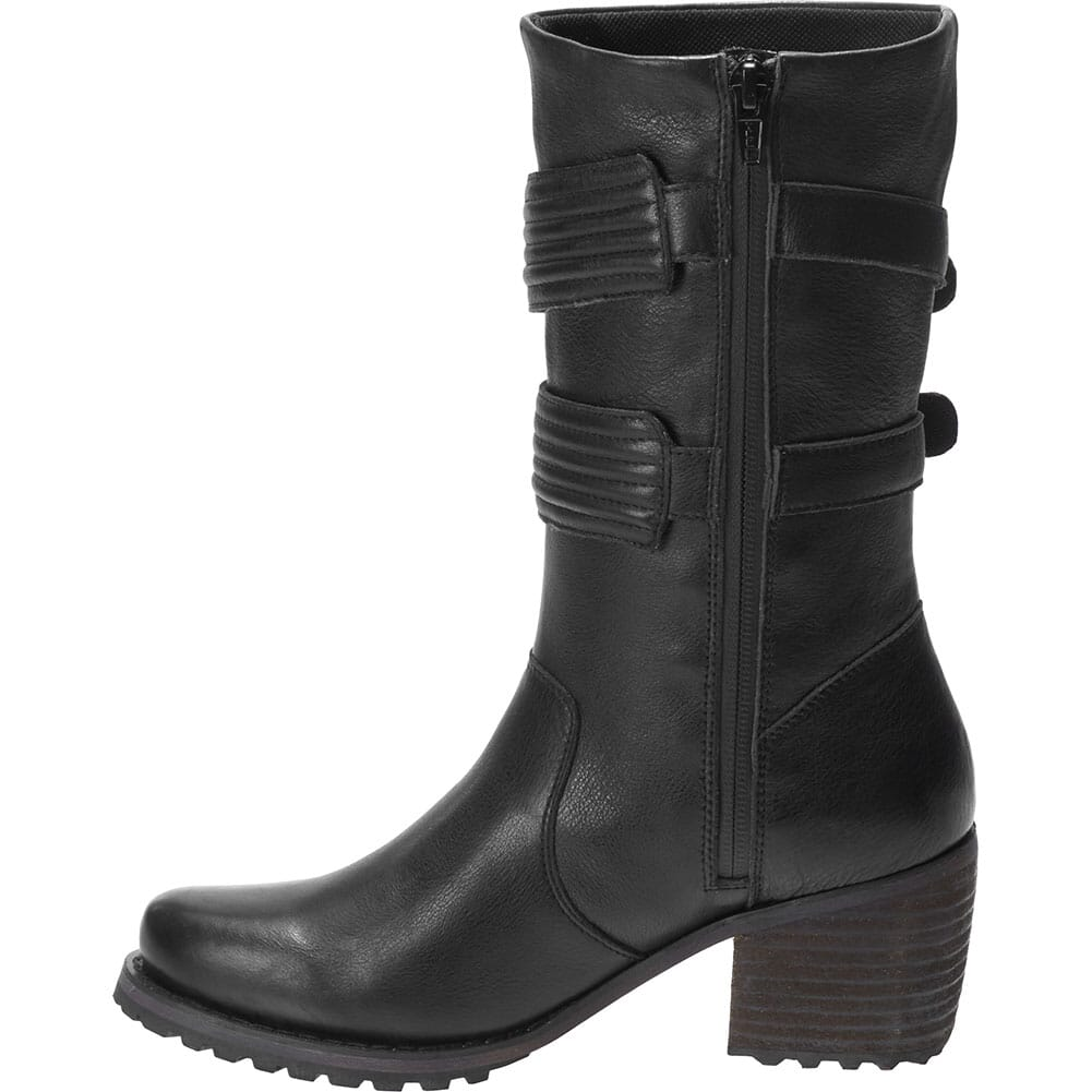 Harley Davidson Women's Hoyt Motorcycle Boots - Black