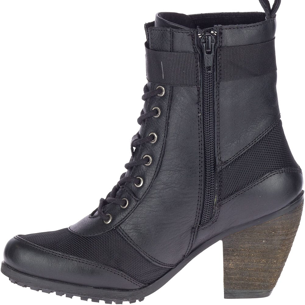 84624 Harley Davidson Women's Burnett Casual Boots - Black