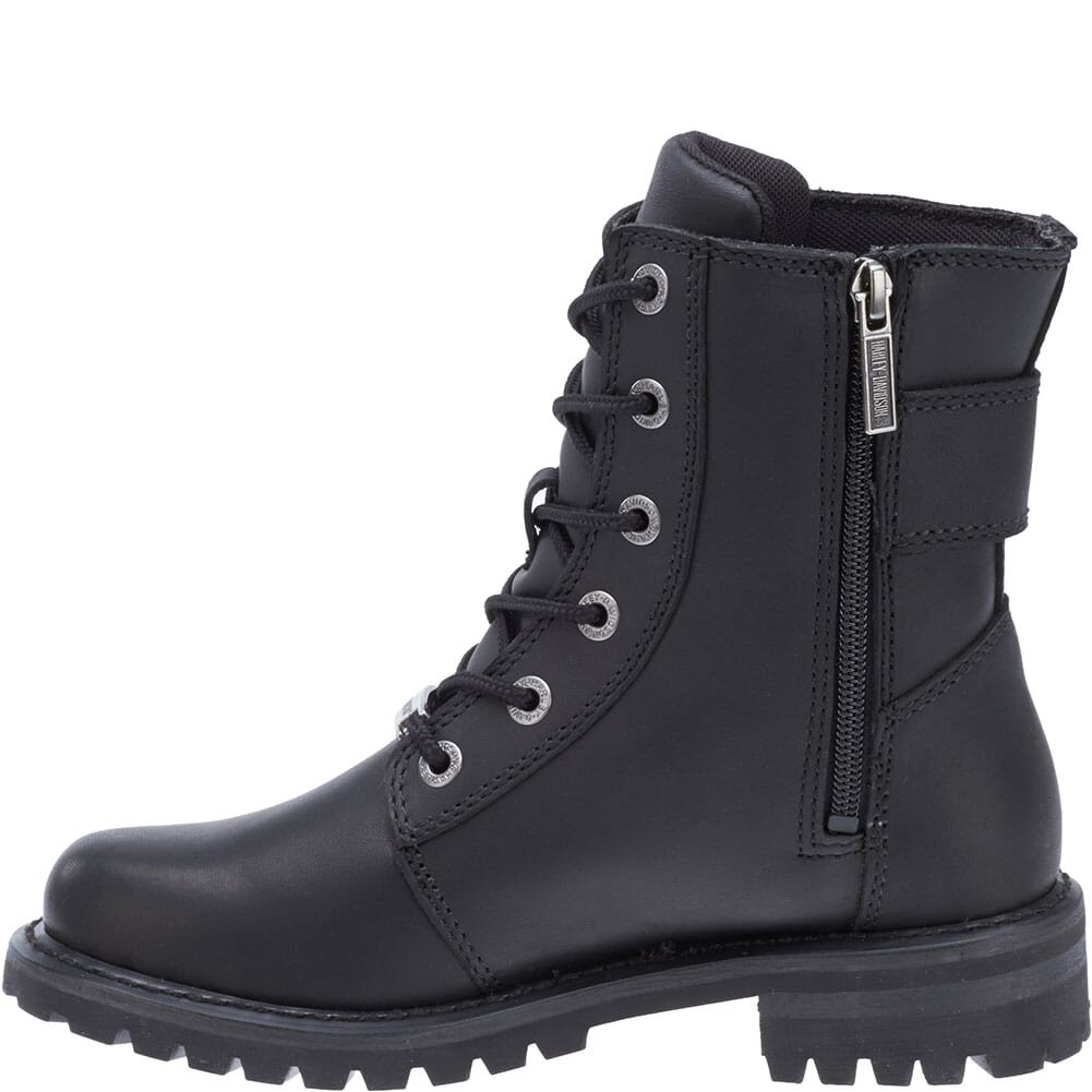 Harley Davidson Women's Sylewood Motorcycle Boots - Black
