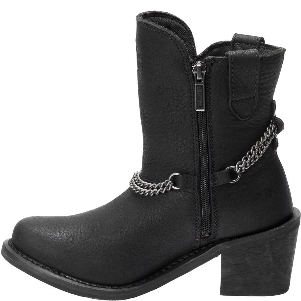 Harley Davidson Women's Vanette Motorcycle Boots - Black