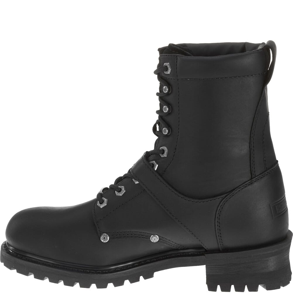 Harley Davidson Men's Faded Glory Motorcycle Boots - Black