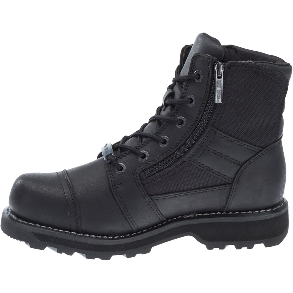 Harley Davidson Men's Bonham Motorcycle Boots - Black