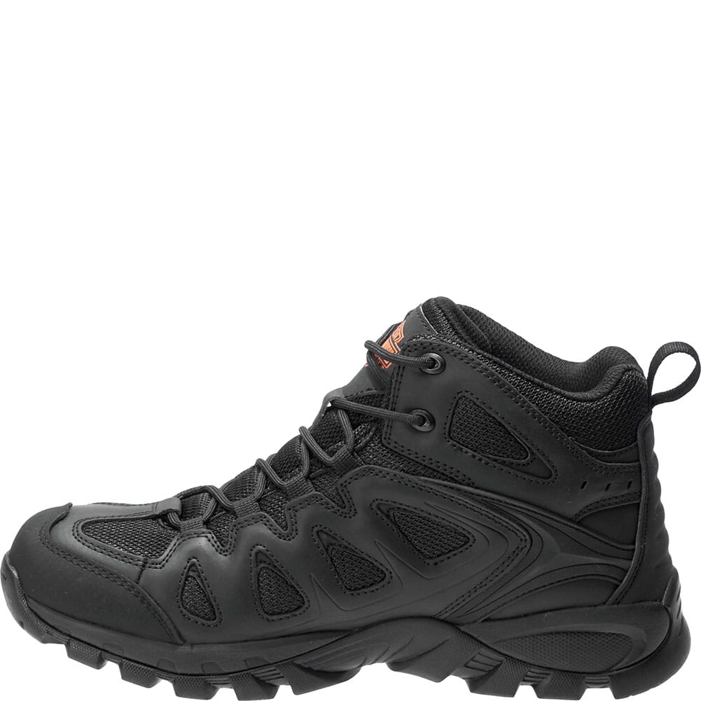 Harley Davidson Men's Woodridge Safety Boots - Black