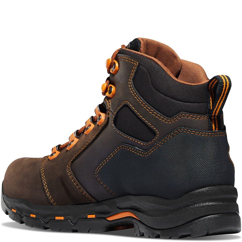 13855 Danner Men's Vicious Met Guard GTX Safety Boots - Brown/Orange