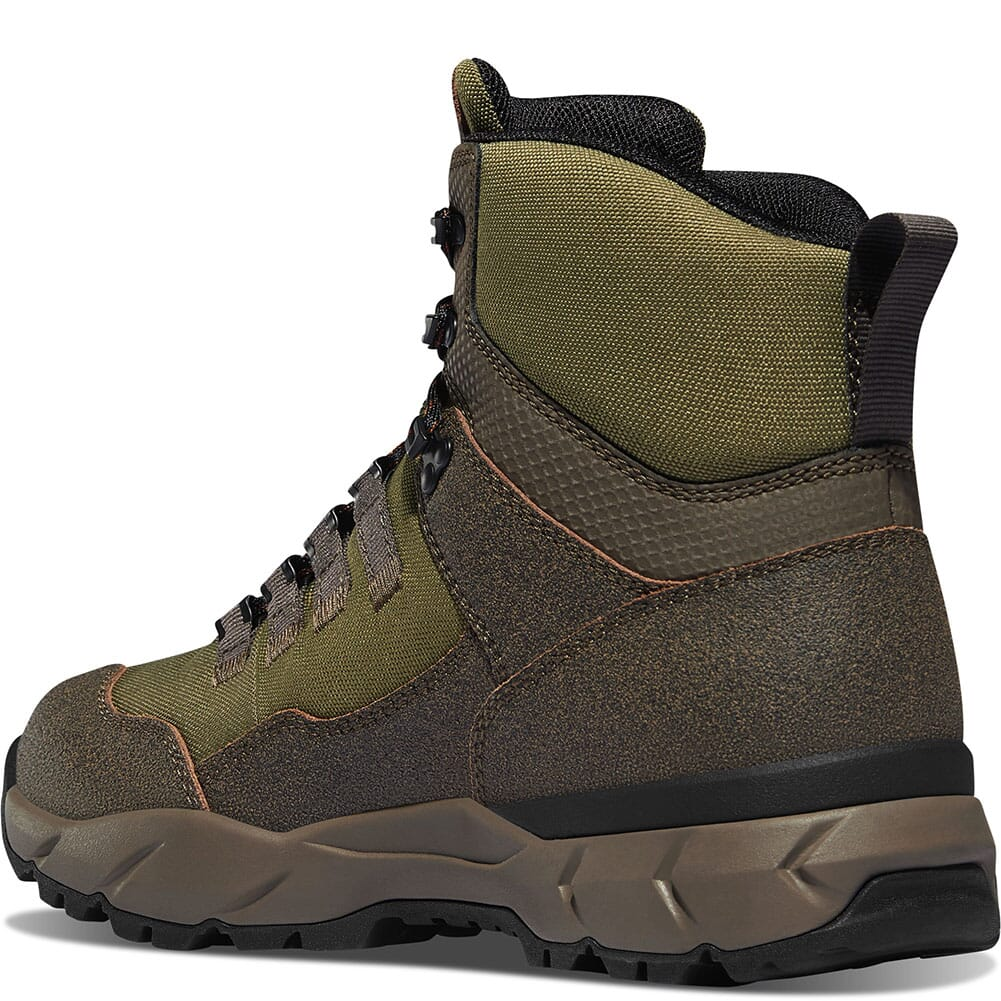 65302 Danner Men's Vital Trail WP Hiking Boots - Brown/Olive