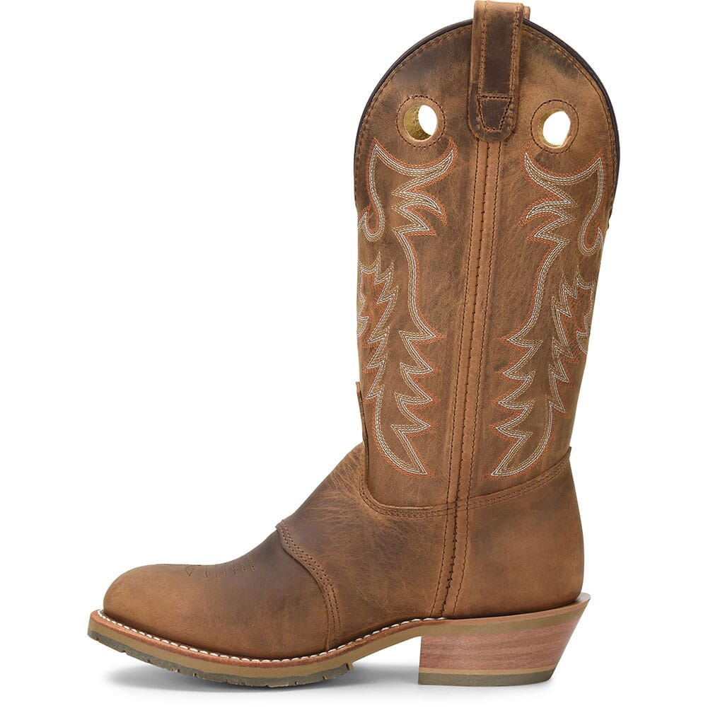 Double H Women's Domestic ICE Western Buckaroos  Boots - Brown