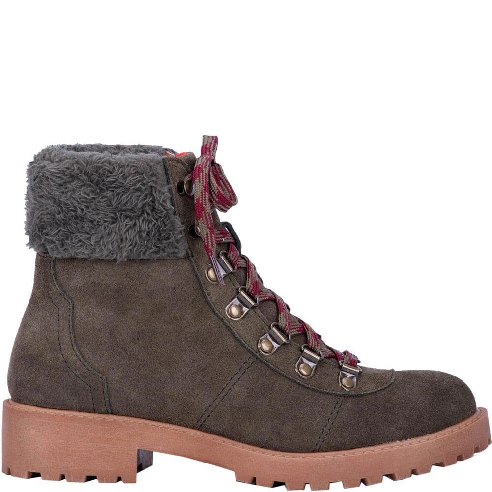Dingo Women's Telluride Casual Boots - Olive