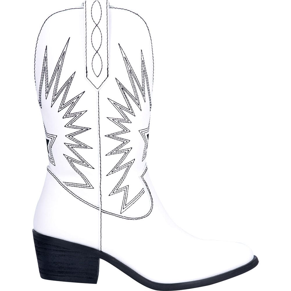 Dingo Women's Rockstar Western Boots - White