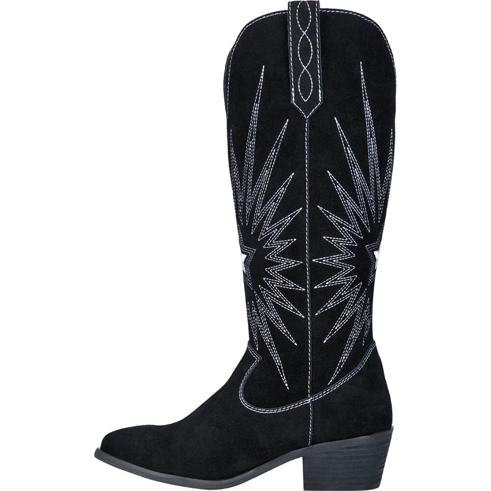 Dingo 1969 Women's Star is Born Western Boots - Black