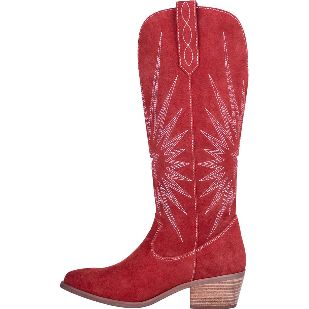 Dingo 1969 Women's Star is Born Western Boots - Red