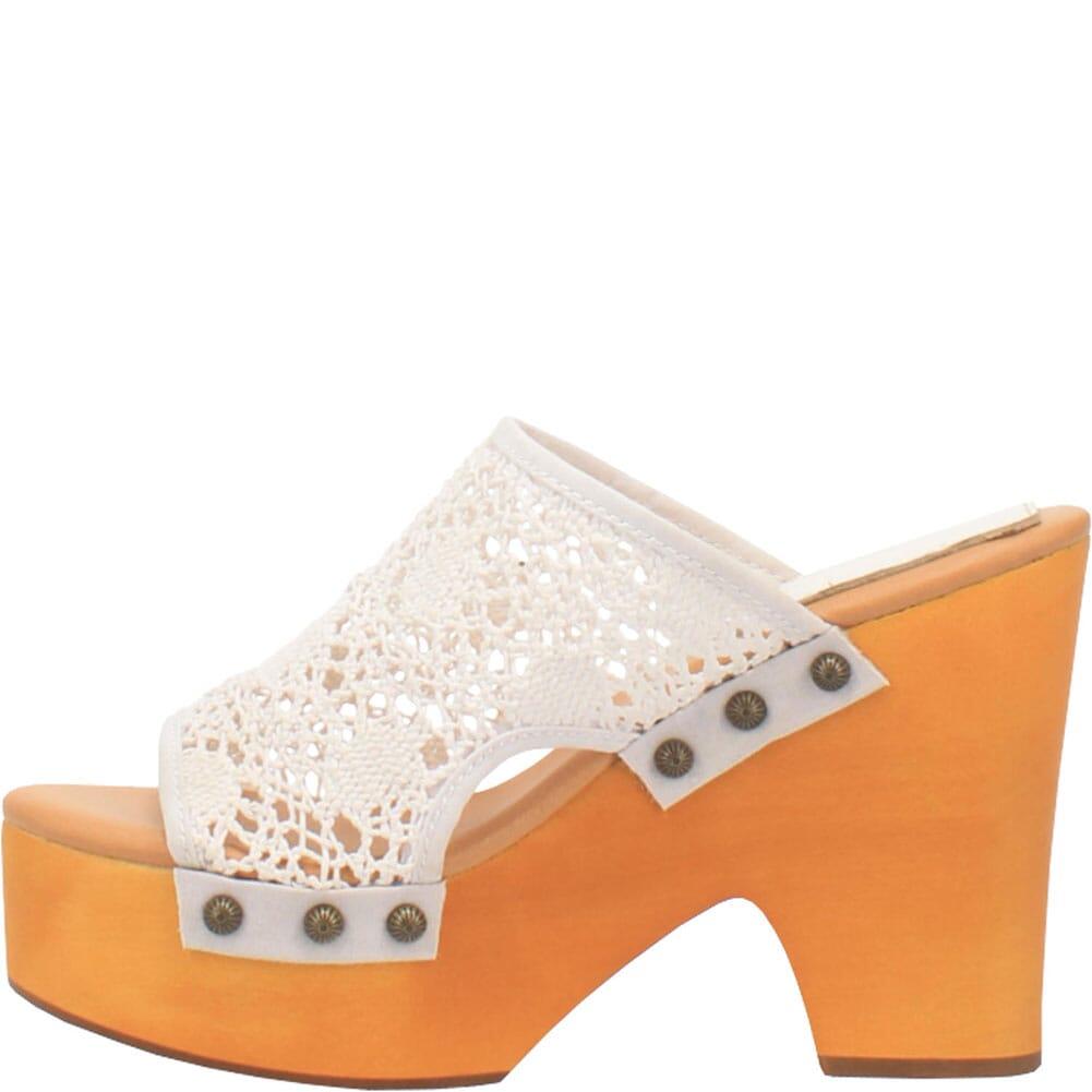 DI361-WH Dingo Women's Crafty Woven Sandals - White