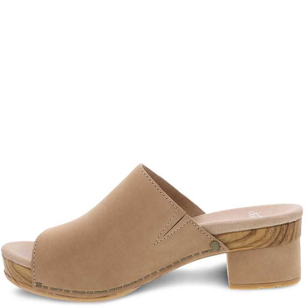 Dansko Women's Maci Milled Nubuck Sandals - Honey