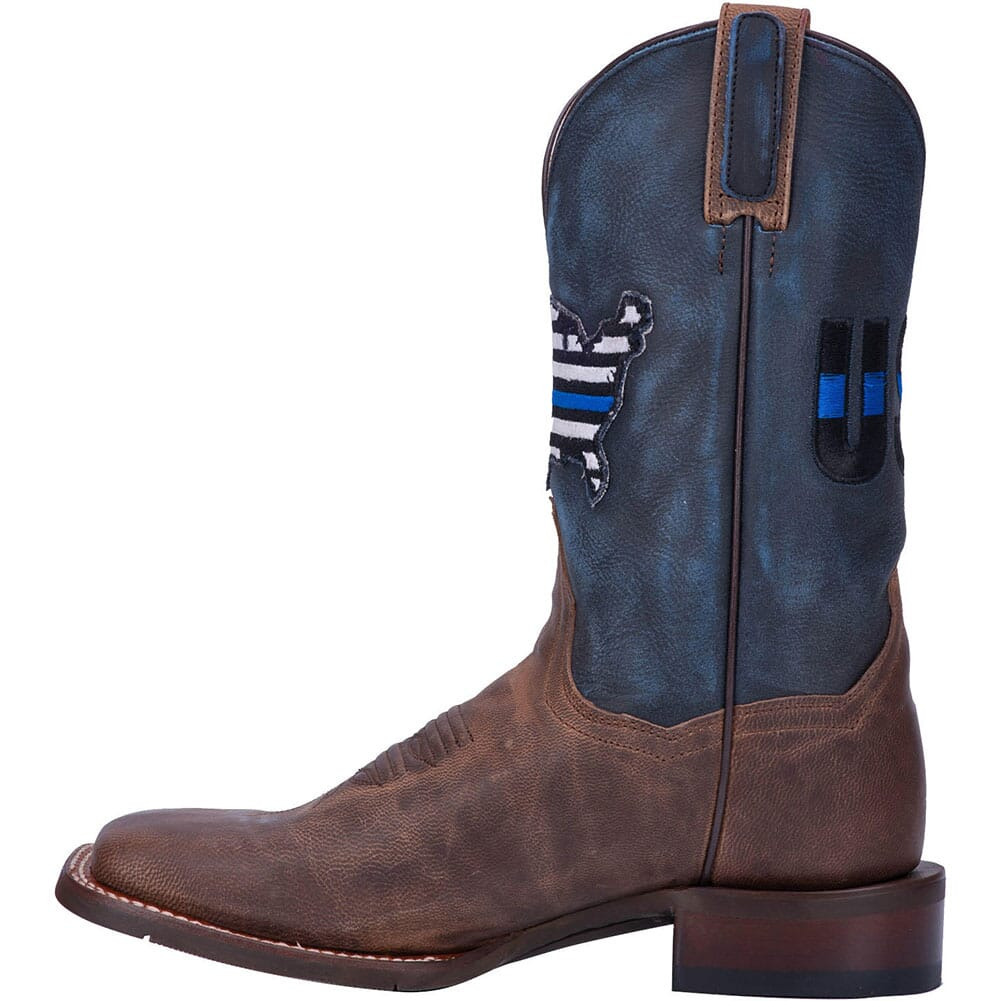 Dan Post Women's Thin Blue Line Western Boots - Navy/Brown