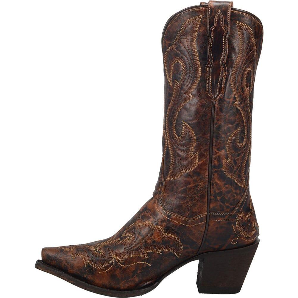 DP4089 Dan Post Women's Marcella Western Boots - Dark Brown