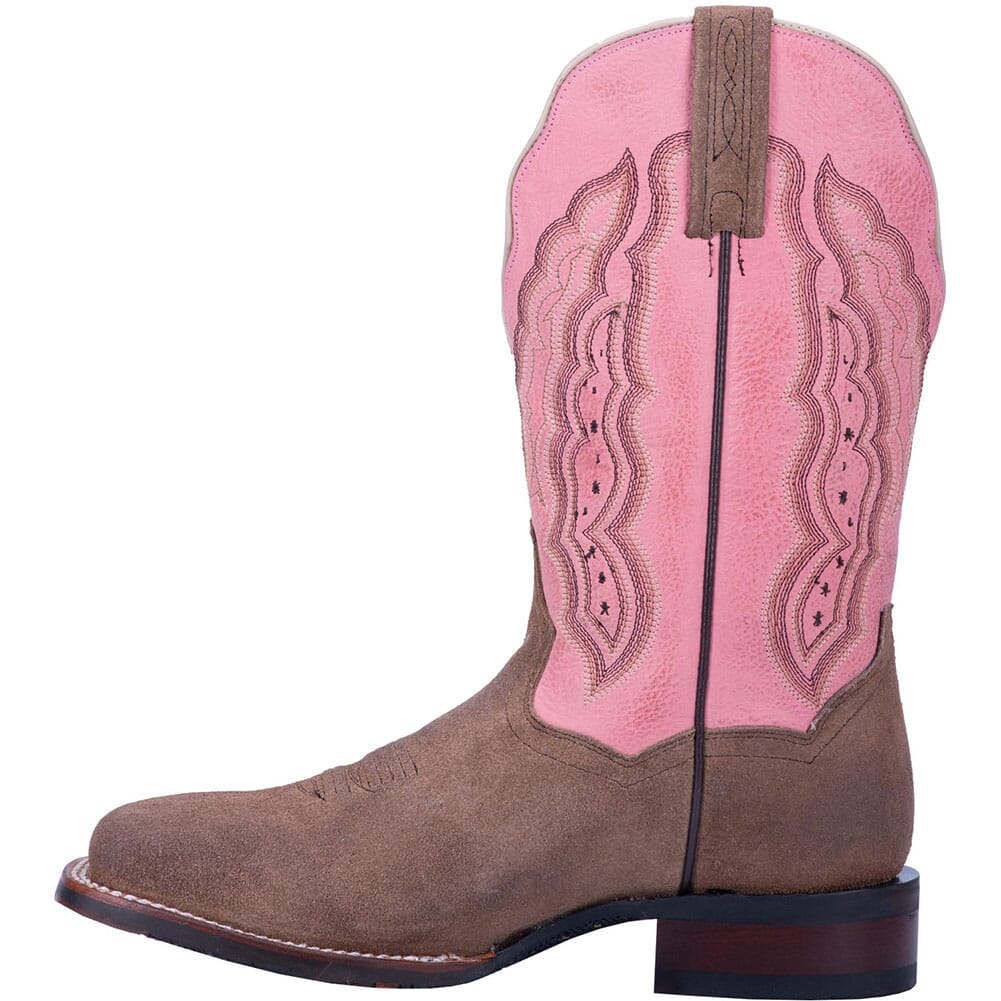 Dan Post Women's Claire Western Boots - Pink/Sand
