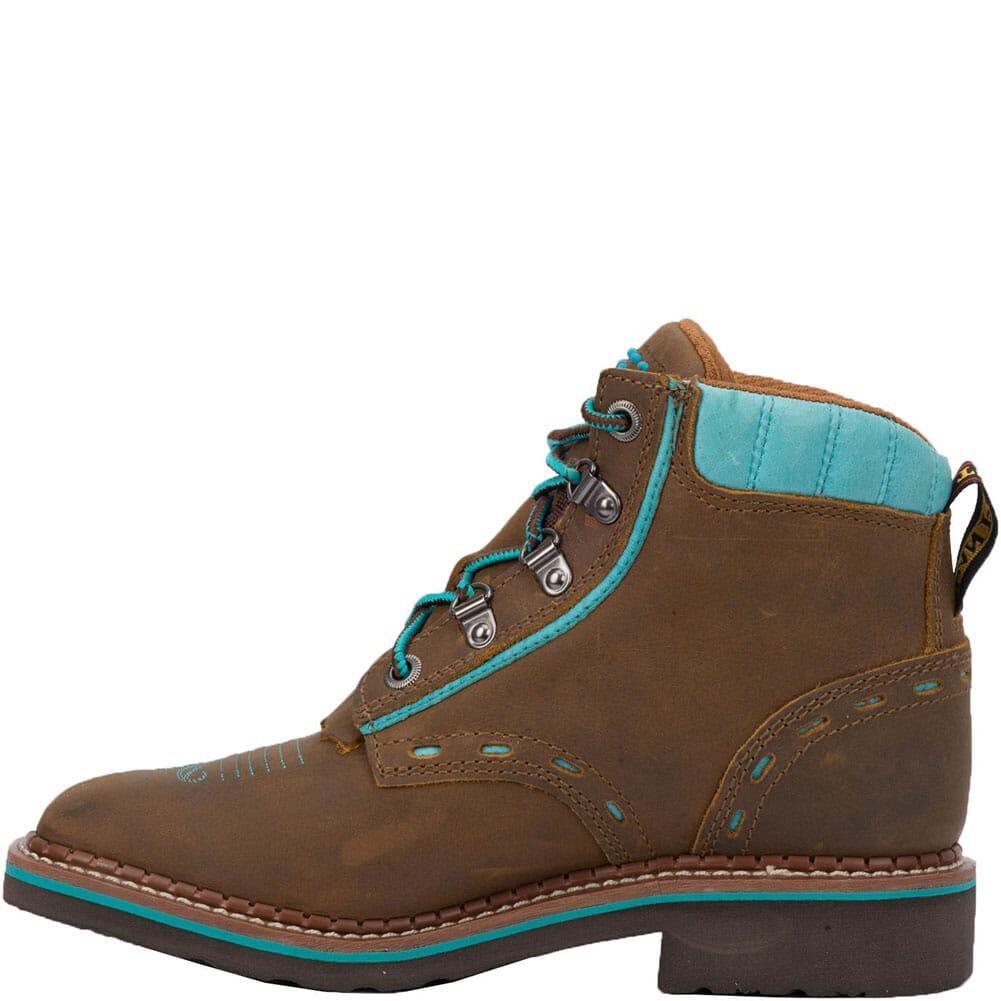 DP59448 Dan Post Women's Janesville Western Boots - Tan/Turquoise