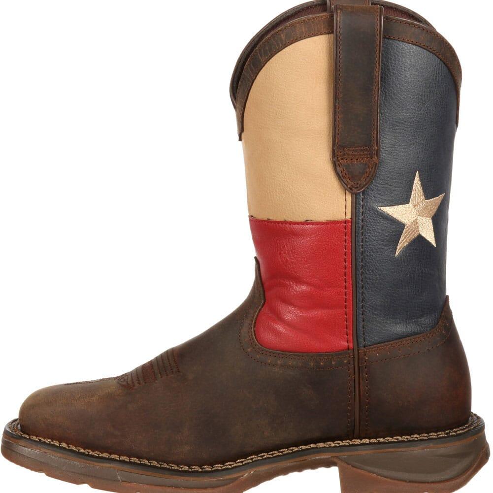 Durango Men's Texas Flag Safety Boots - Brown
