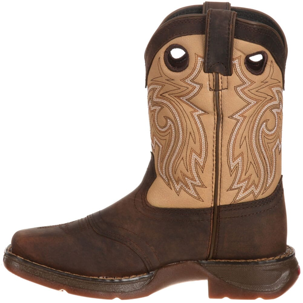 Lil' Durango Little Kid Saddle Western Boots - Brown/Tan