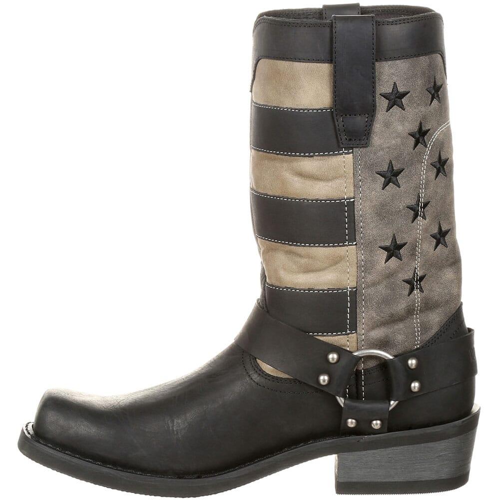 Durango Men's Faded Flag Harness Boots - Black