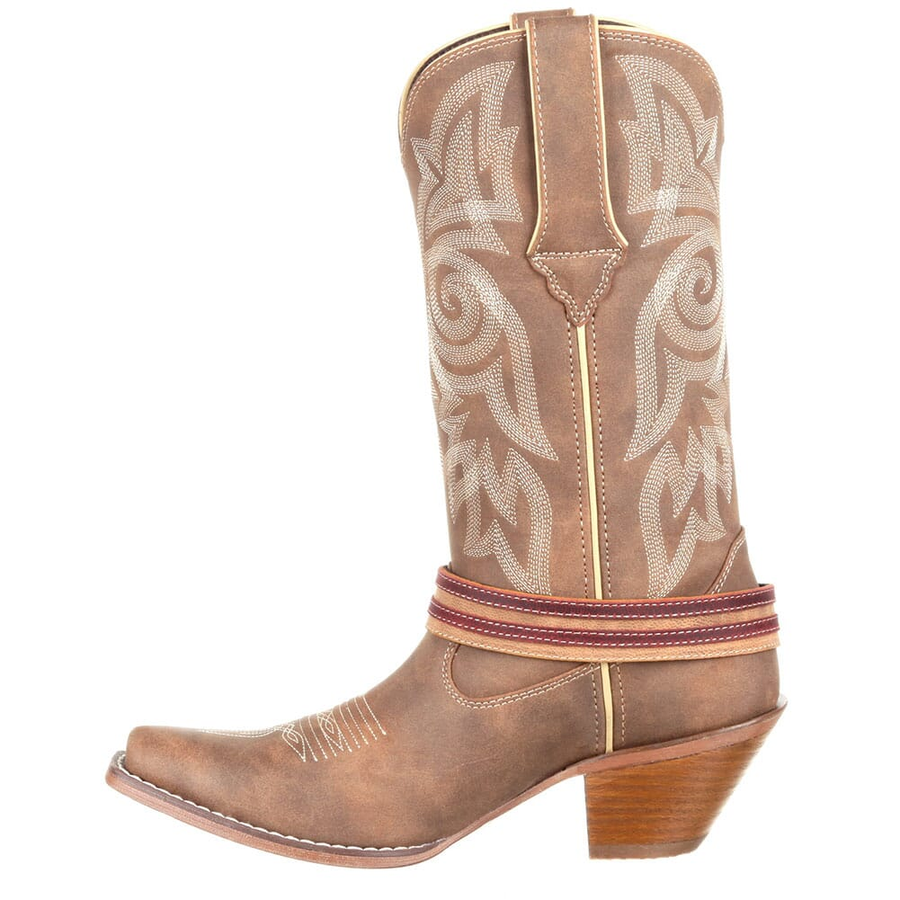 Durango Women's Crush Flag Western Boots - Brown Khaki