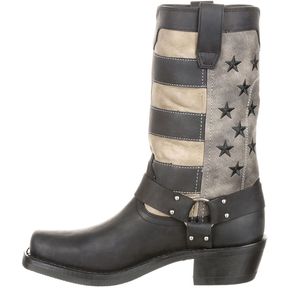 Durango Women's Faded Flag Western Boots - Black/Charcoal Grey