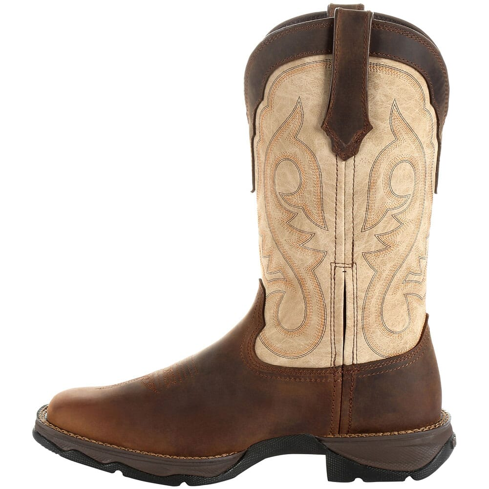 DRD0332 Durango Women's Lady Rebel Western Boots - Bark Brown/Taupe
