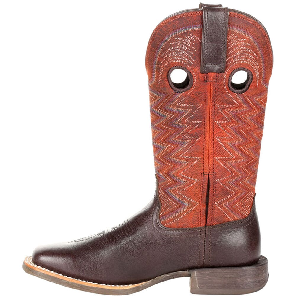 DRD0355 Durango Women's Lady Rebel Pro Western Boots - Dark Chestnut/Crimson