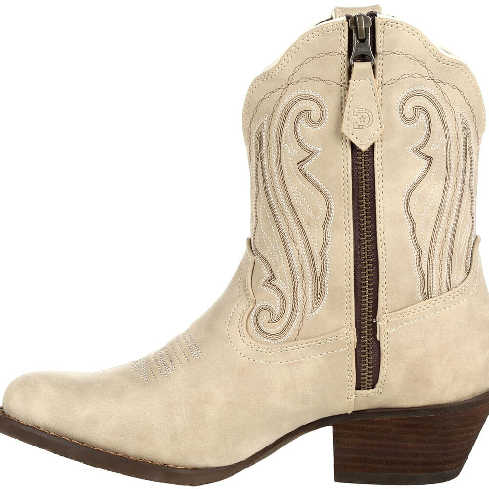 DRD0373 Durango Women's Crush Shortie Western Boots - Taupe