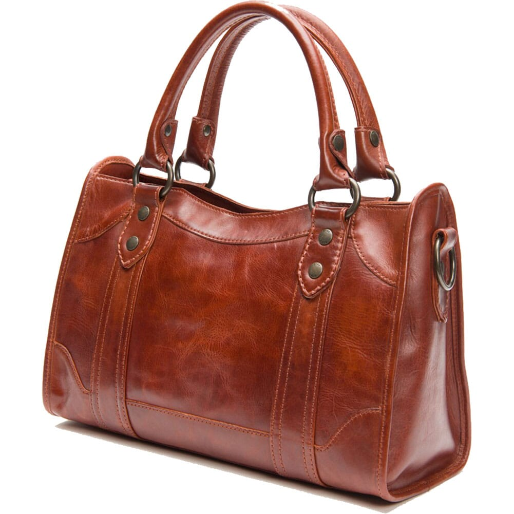 FRYE Women's Melissa Satchel Handbag - Red Clay