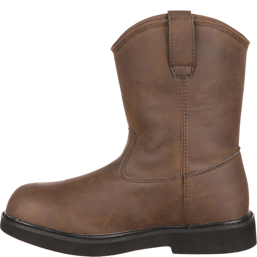Georgia Kid's Pull-On Boots - Brown