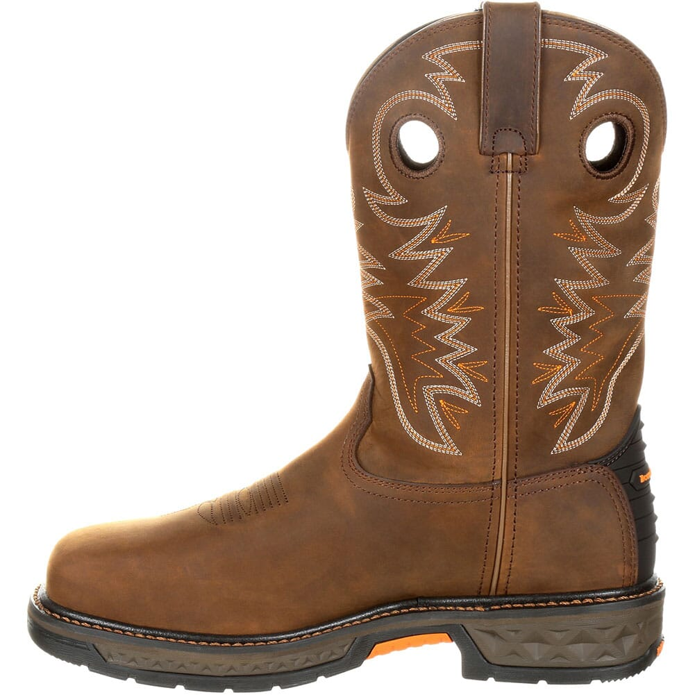 Georgia Men's Carbo-Tec WP Safety Boots - Brown/Red