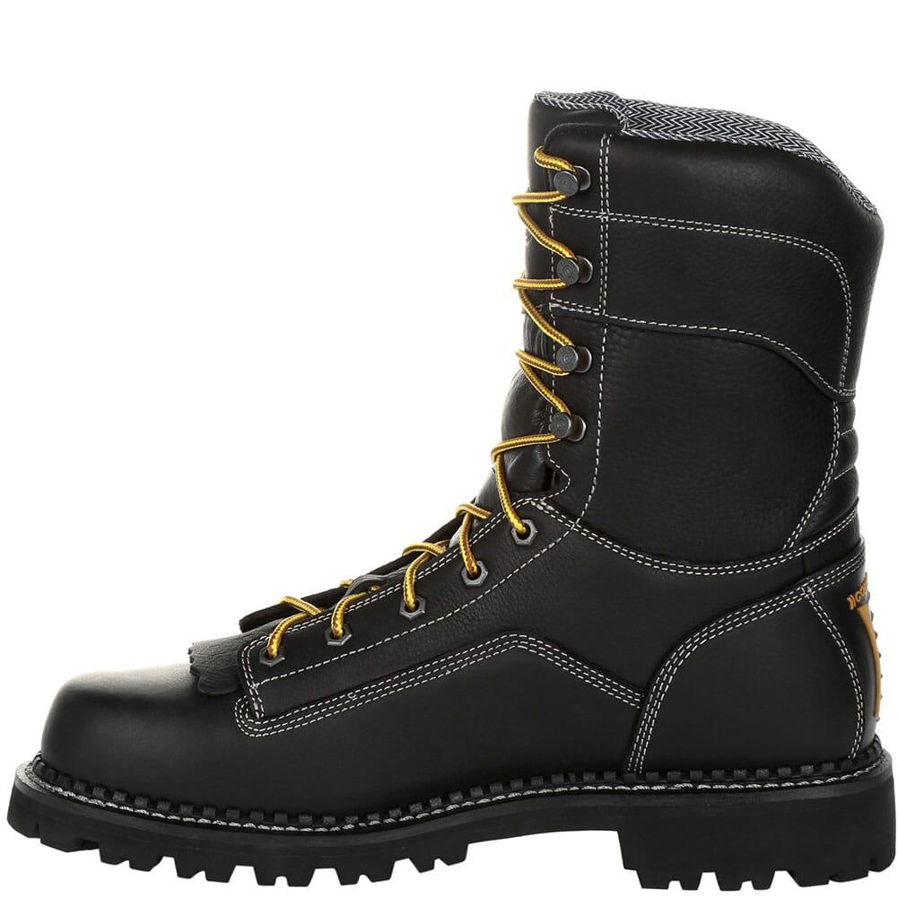 Georgia Men's AMP LT WP Safety Loggers - Black