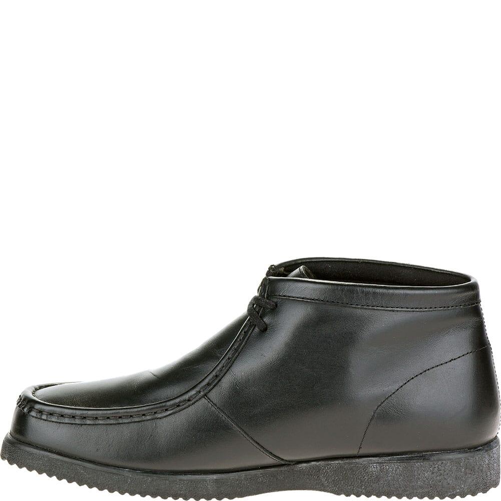Hush Puppies Men's Bridgeport Casual Shoes - Black Leather