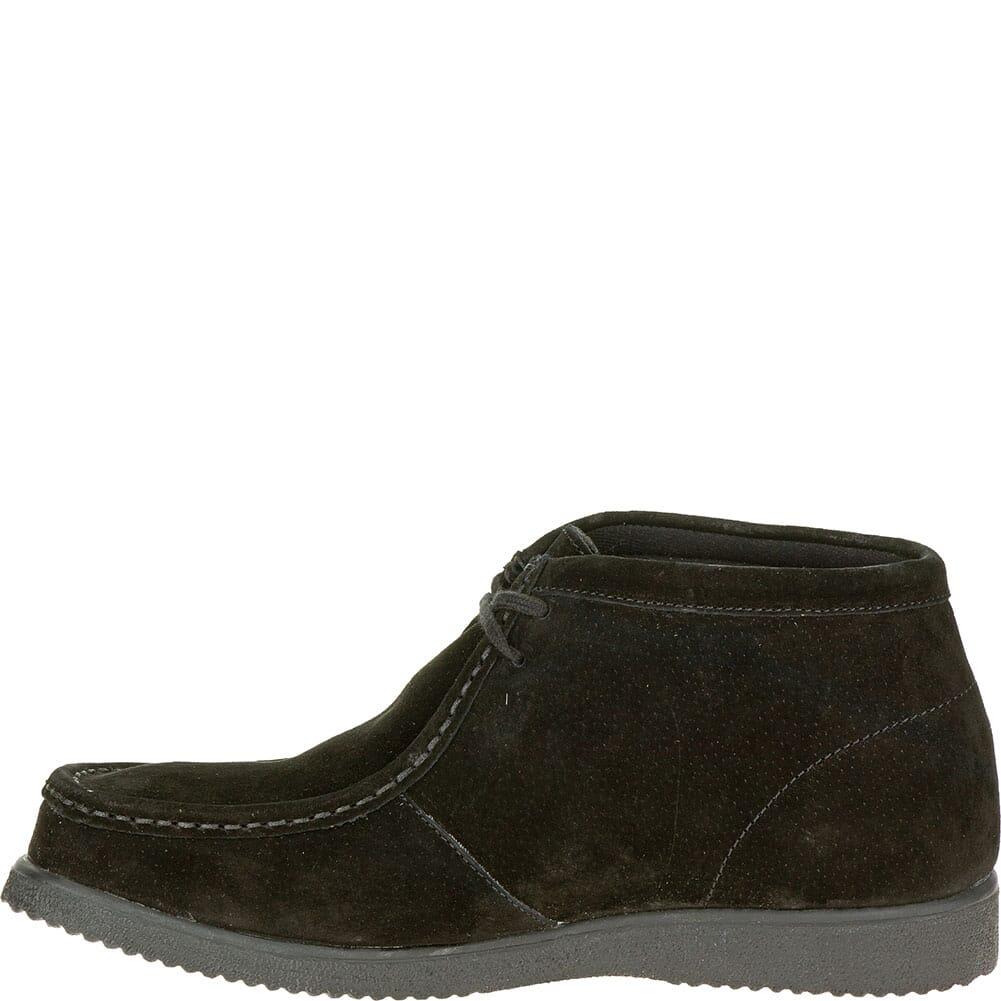 Hush Puppies Men's Bridgeport Casual Shoes - Black Suede