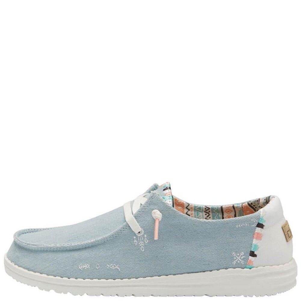 121412412 Hey Dudes Women's Wendy Boho Casual Shoes - Light Denim