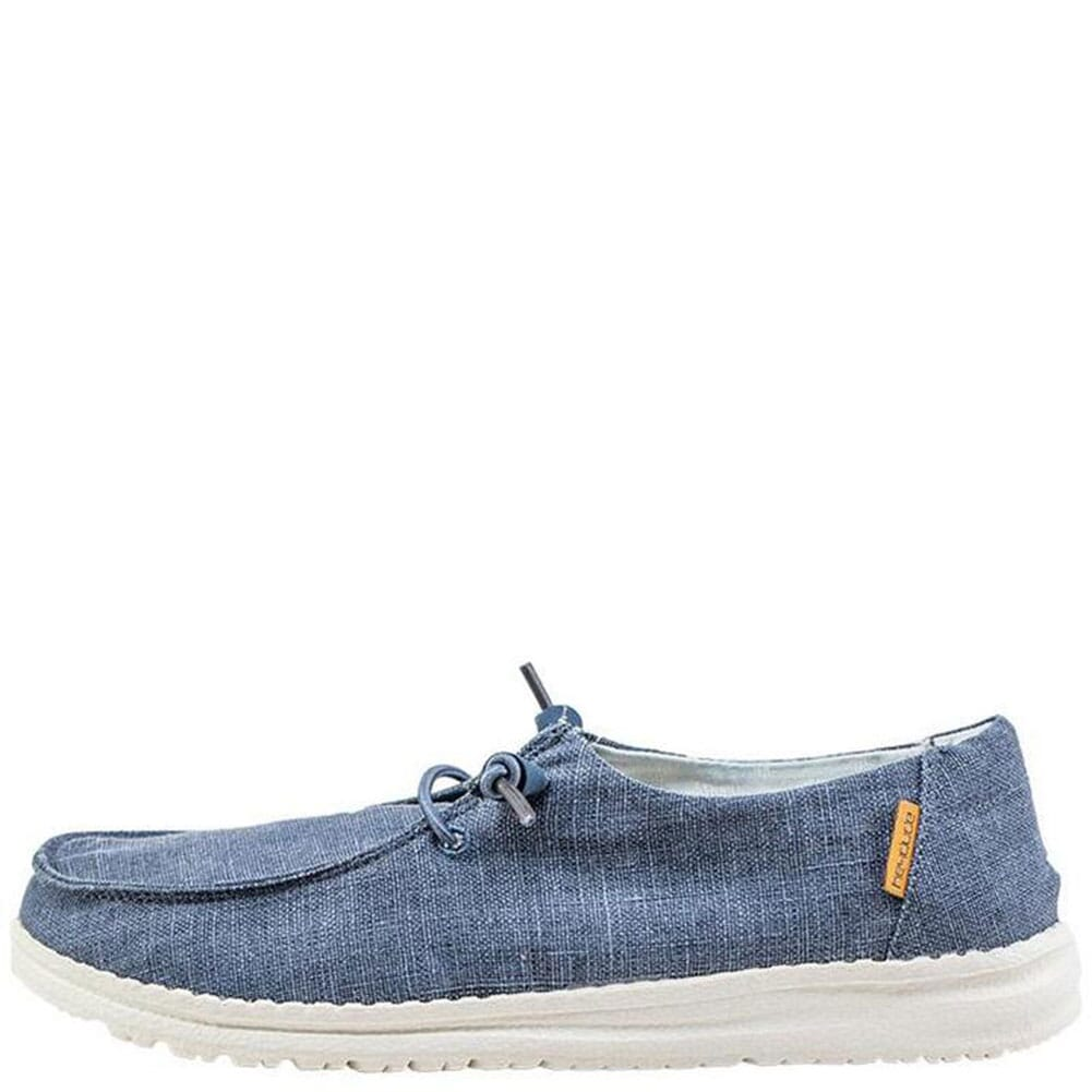 Hey Dude Women's Wendy Casual Shoes - Navy White