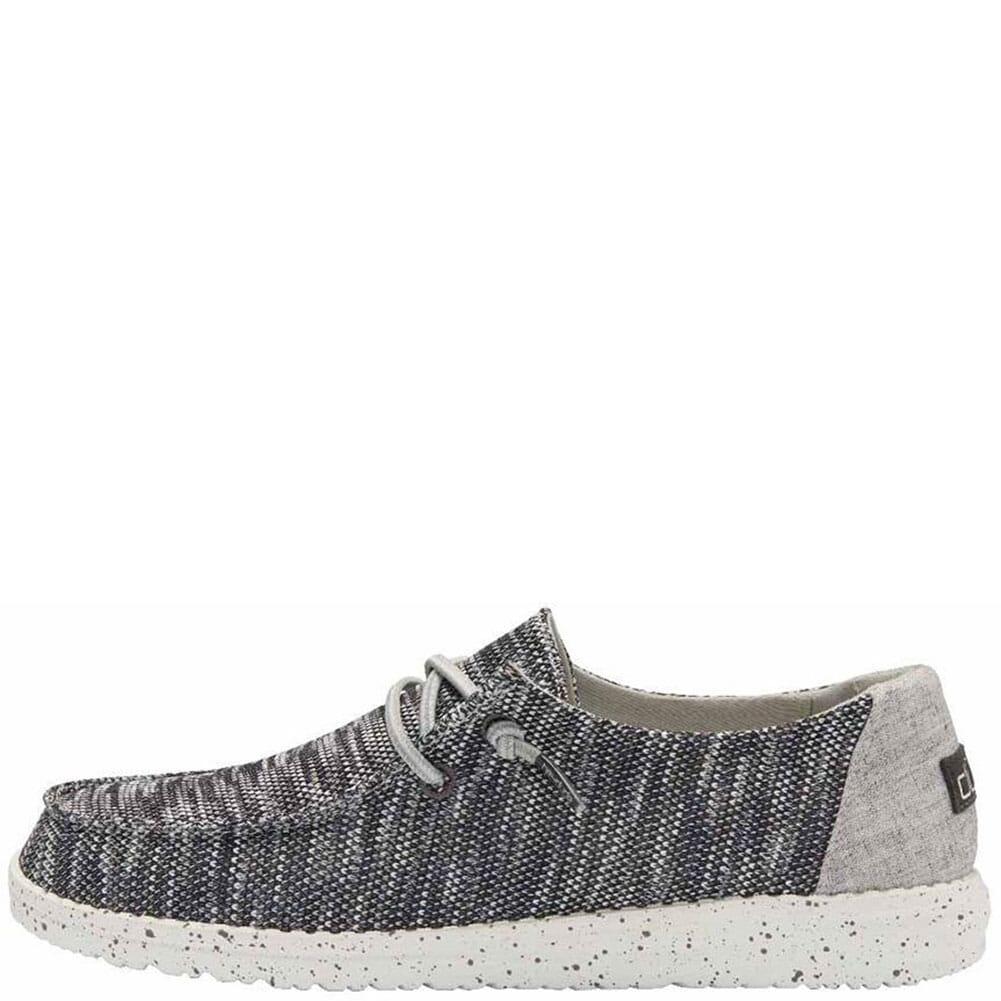 121923008 Hey Dude Women's Wendy Sox Casual Shoes - Dark Grey