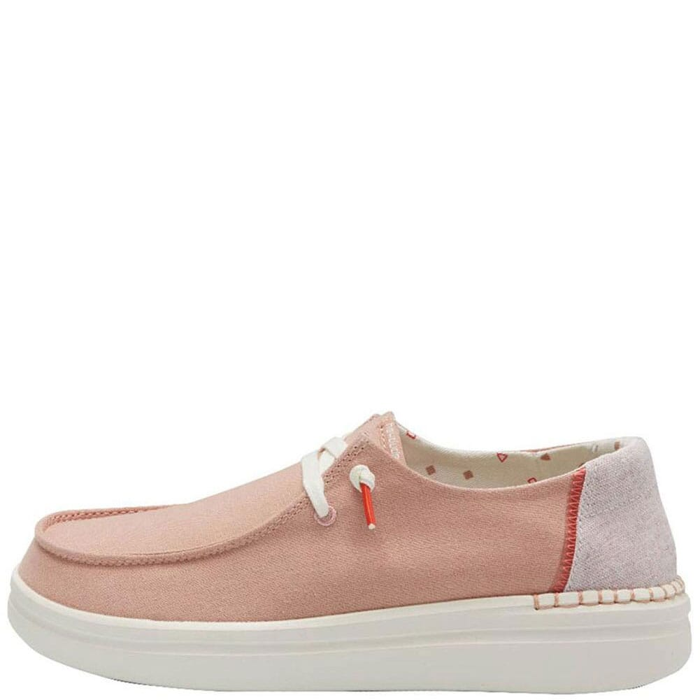 121945031 Hey Dude Women's Wendy Rise Casual Shoes - Chambray Rose