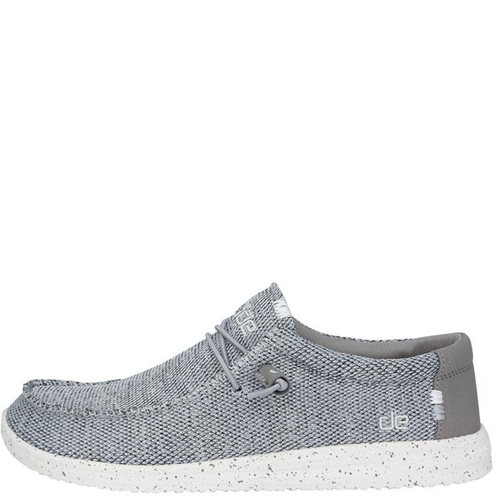 Hey Dude Men's Wally Free Casual Shoes - Light Grey