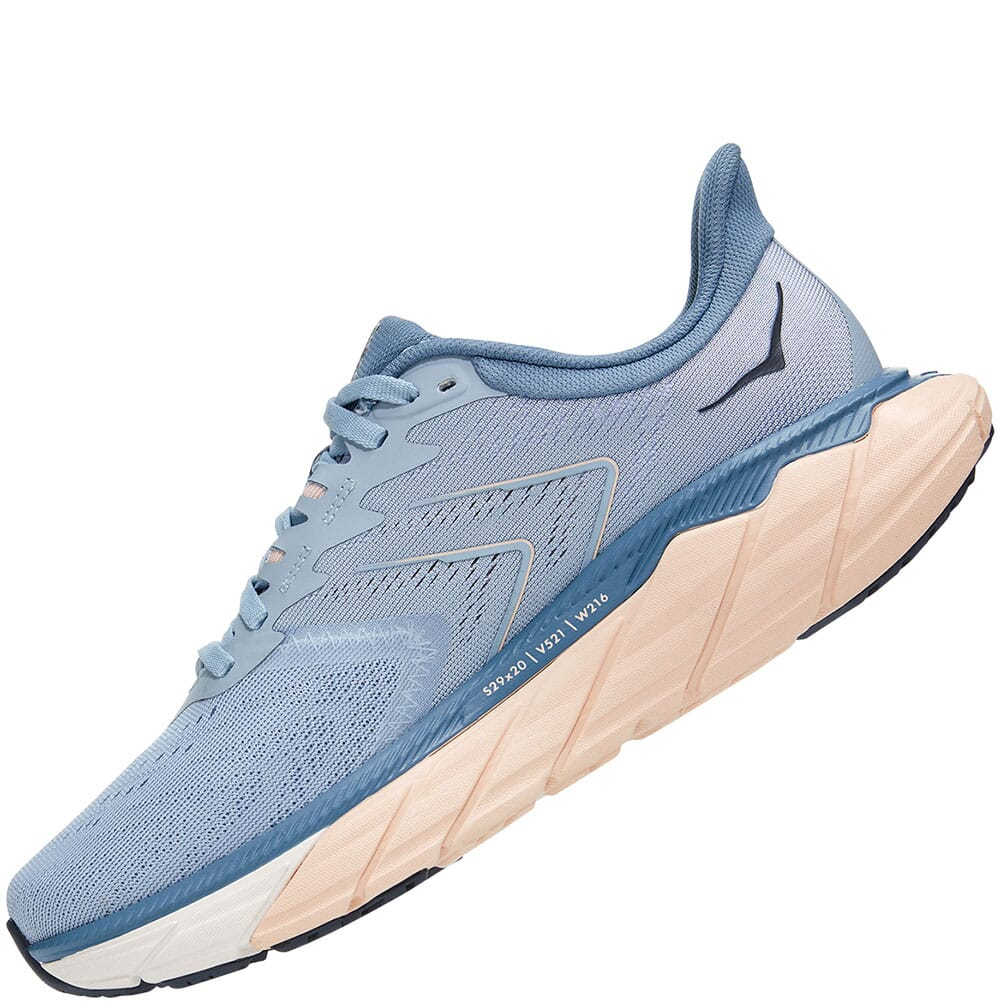 1115012-BFPB Hoka One One Women's Arahi 5 Running Shoes - Blue Fog