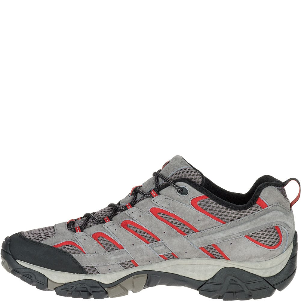 Merrell Men's Moab 2 Ventilator Hiking Shoes - Charcoal Grey