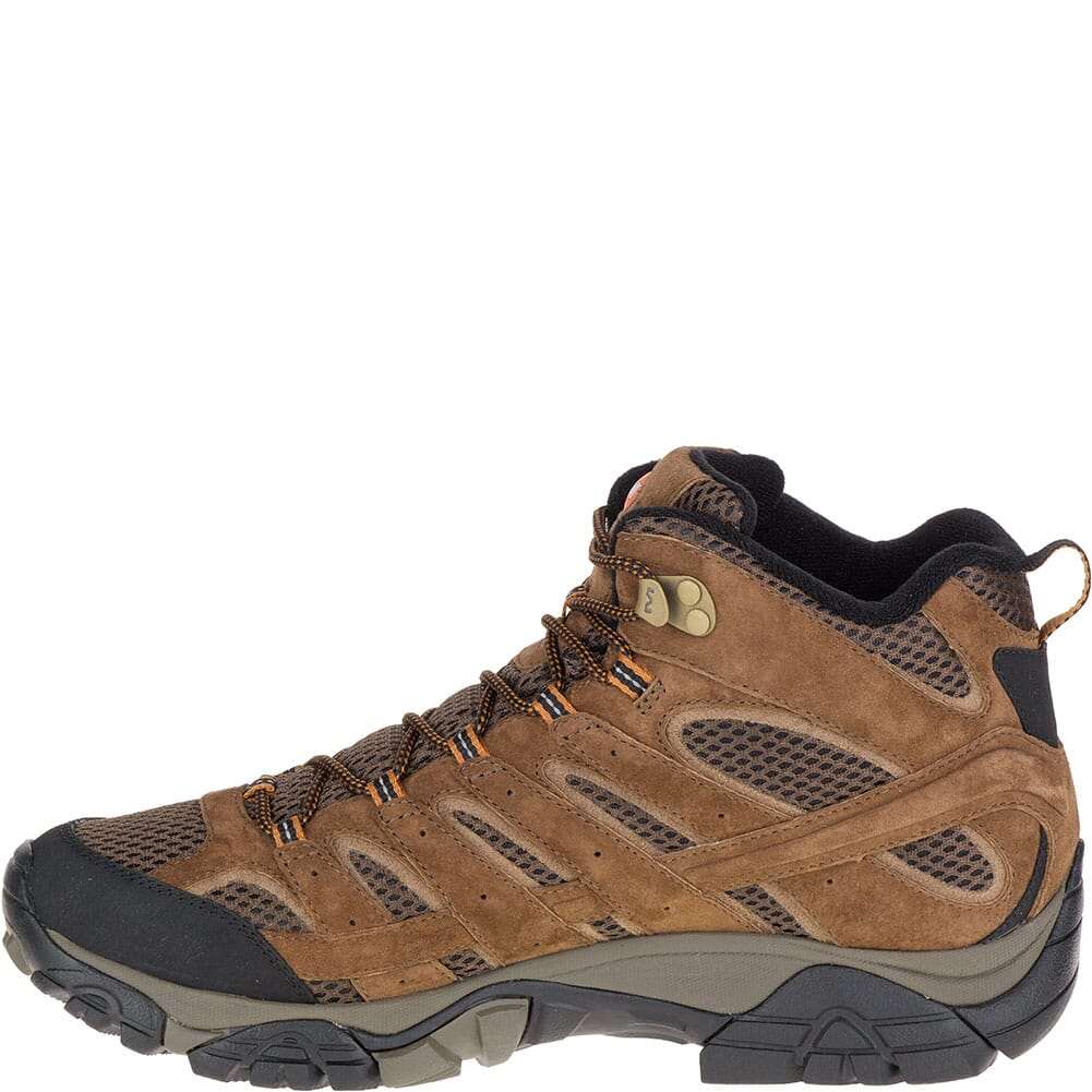 Merrell Men's Moab 2 Mid WP Hiking Boots - Earth