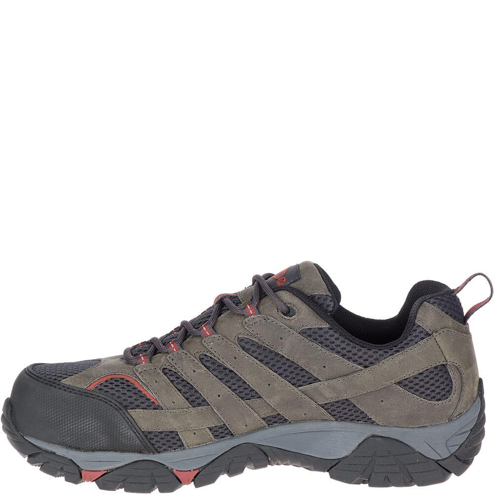 Merrell Men's Moab Vertex Vent Safety Shoes - Pewter