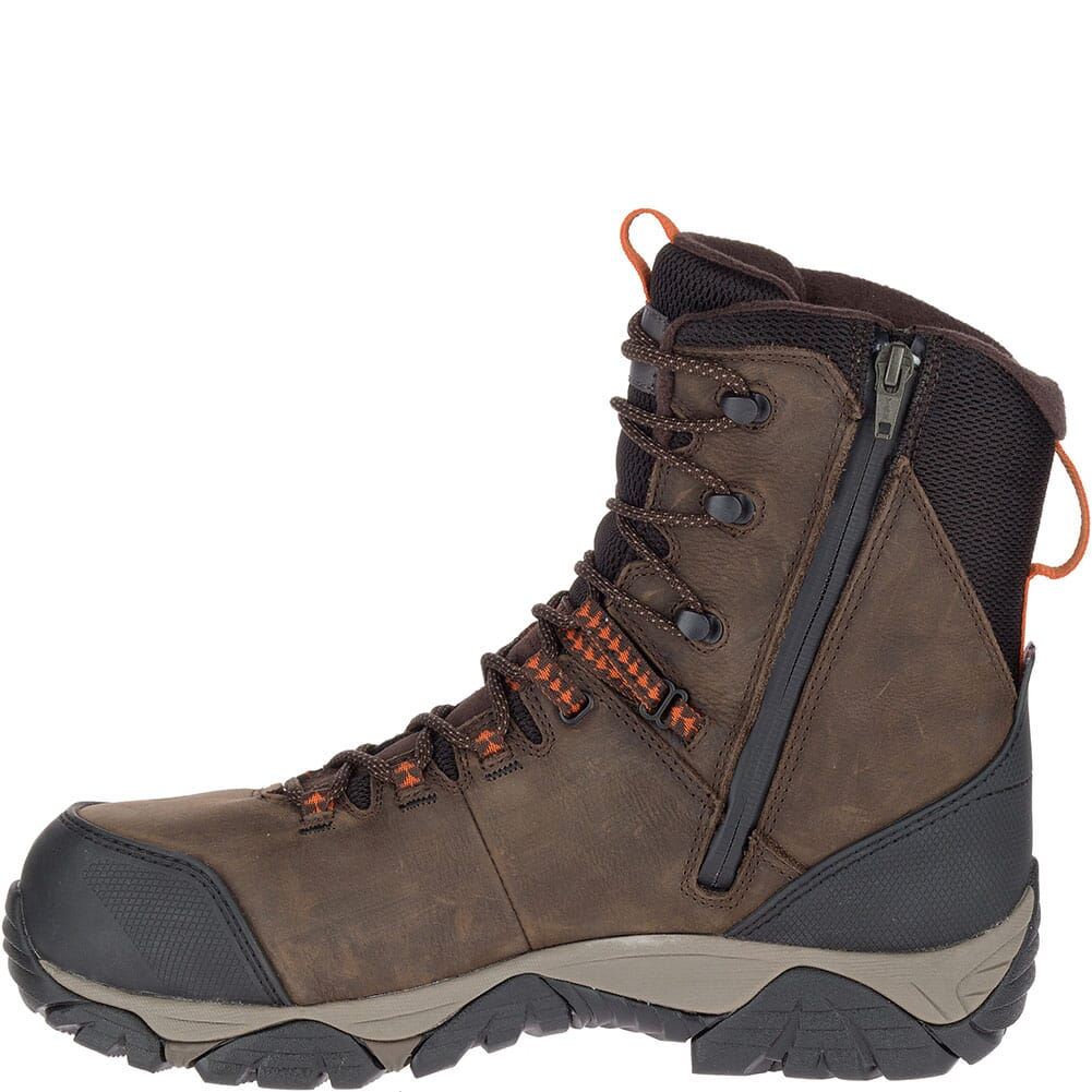 Merrell Men's Phaserbound Thermo WP Safety Boots - Espresso