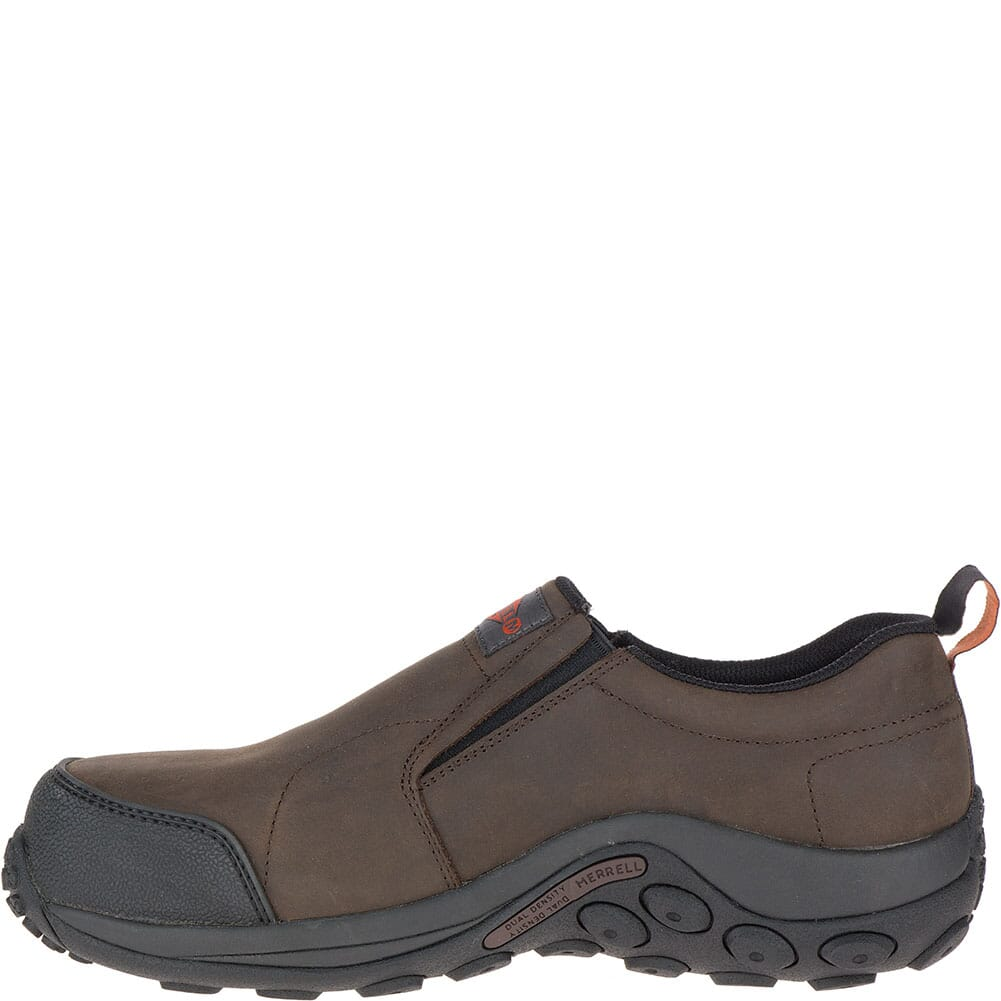 Merrell Men's Jungle Moc ESD Wide Safety Shoes - Espresso