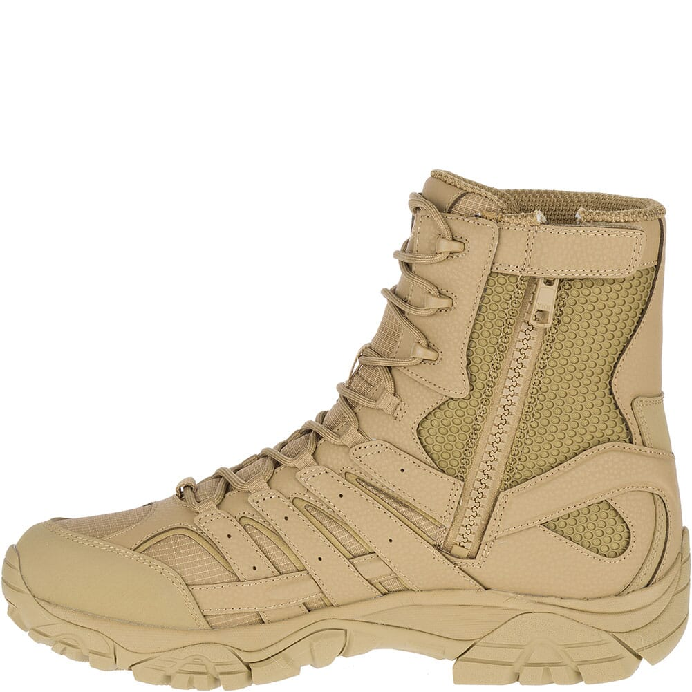 Merrell Men's Moab 2 Wide Tactical Boots - Coyote
