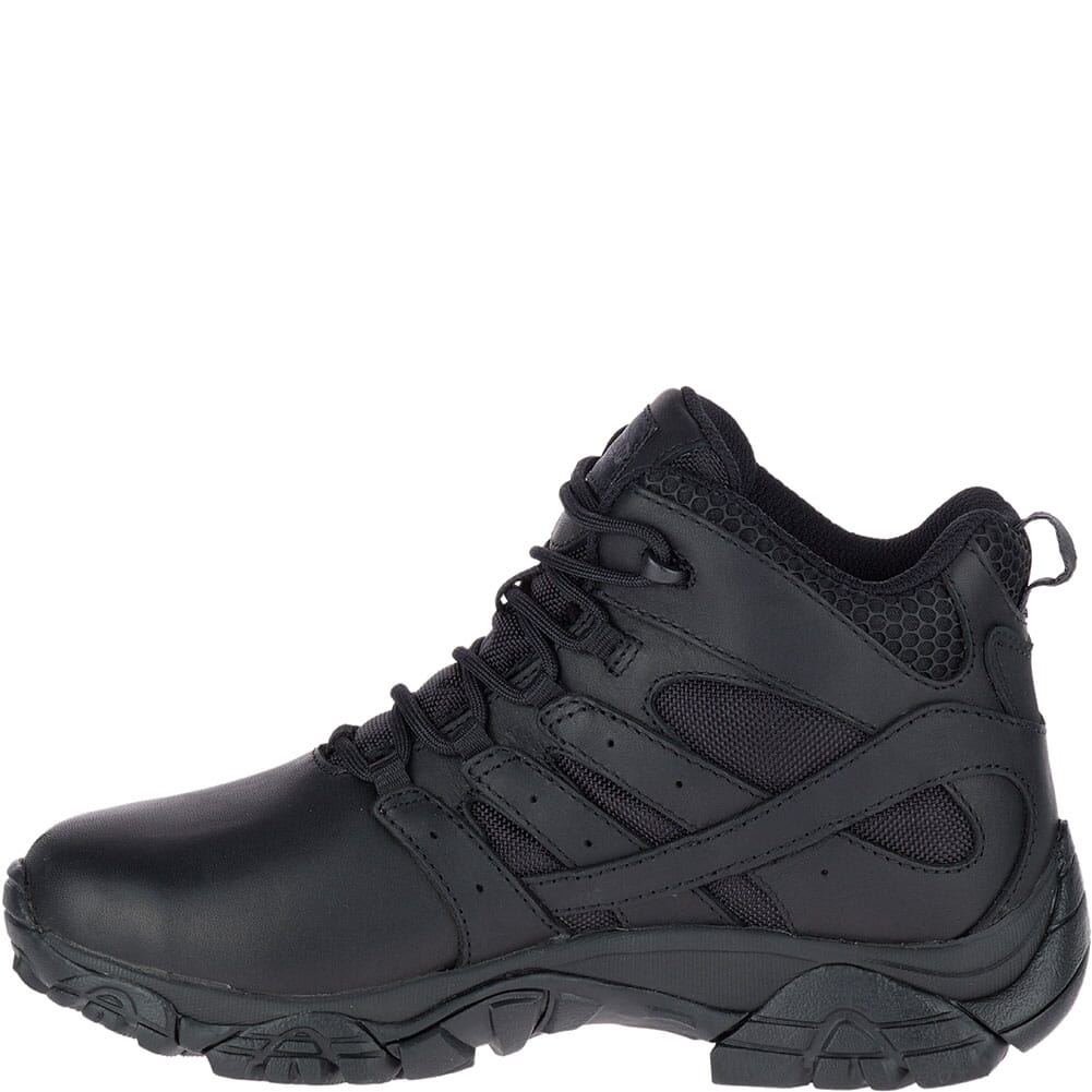 Merrell Women's Moab 2 Tactical Response WP Uniform Boots - Black